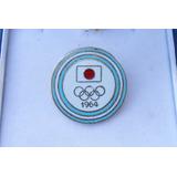 Pin Delegación Argentina Olimpiadas Japón 1964