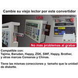 Convertidor Floppy A Usb Para Bordadoras Y Teclados Musicale