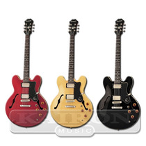 Guitarra Epiphone Dot 335 Cherry Black Natural