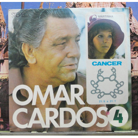 Omar Cardoso Nº4 Cancer Martinha Compacto Continetal Estéreo