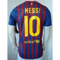 Playera Barcelona Code 7 Messi ..espectacular