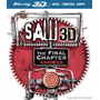 Blu-ray Saw The Final Chapter / Juego Del Miedo 7 / 3d + 2d