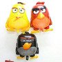 Pack 3 Globos Angry Birds Red - Bomb - Chuck