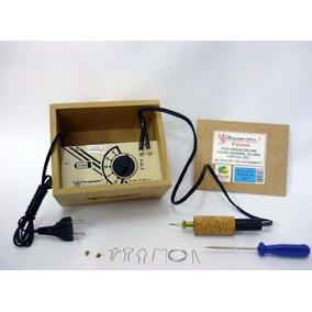 Pirógrafo Palante Em-6 Escolar - 4 Temperaturas 110v