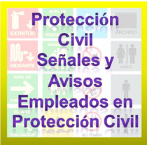 Proteccion Civil Señales Y Avisos. Act. Digital
