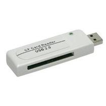 Adaptador Leitor Gravador Usb Para Cartão Compact Flash Cf