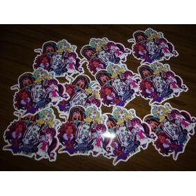 50 Mini Apliques, Recortes Monster High E Outros Personagens