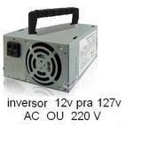 Inversor 12 Volts Pra 127v Ou 220v 100w 60 Hz Onda Quadrada