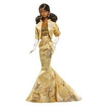 Barbie Silkstone Golden Gala Aa Convenção 2009 Rara Nrfb