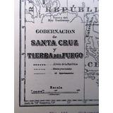 Plano 1930 Gobernacion De Santa Cruz Y Tierra Del Fuego Mapa