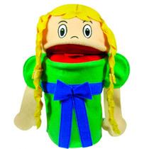 Brinquedo Fantoche Rapunzel - Papo De Pano - Ref Po993