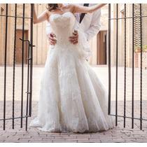 Vestido De Novia Casa Iza - Talla 4 - 1.65m - Negociable!!