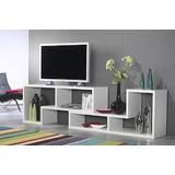 Mueble Modular Tv Plane Minimalista
