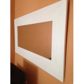 vendo espejo para pared rectangular con marc de x