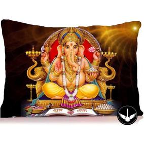 Almofada Indiana Ganesha Lorde Deus 30x40cm Com Enchimento