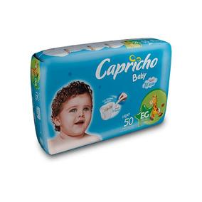 Atacado Fralda Infantil Capricho Baby -tamanho Eg-100 Unid