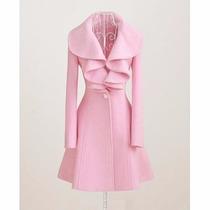 Abrigo Saco Invierno Moda Japonesa Importada