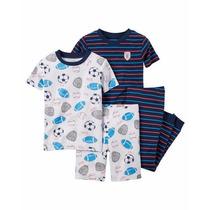Pijamas 4 Piezas Carters Importados
