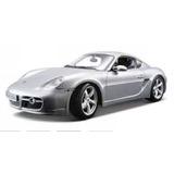 Porsche Cayman S (plata) 1/18 Modelo De Coche (miniautomóvi