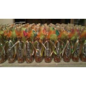 Invitaciones En Botellas De Cristal Hawaiianas