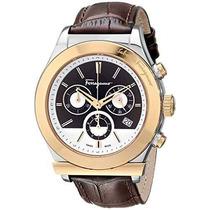 Reloj De Acero Inoxidable Ion-plateada Oro De Salvatore Fer