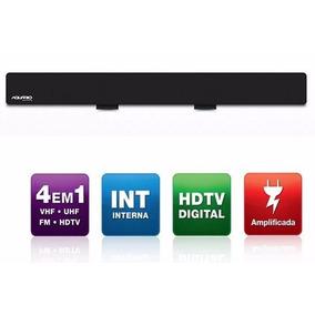 Dtv-2600 Antena Interna Amplificada Para Tv - Vhf / Uhf / Fm