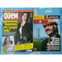 *jl 2 Revistas Quem Acontece N.506 Fátima Bernardes + Época*