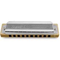 Gaita Boca Profissional Diatônica Hering 8020 Super 20 Dó C