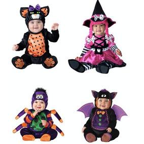 Disfraz Bebe Niño Niña Disfraces Halloween Dia De Brujas