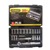 Autocle 1/4 Con 20 Pz 5/32-1/2 -7-13 Mm Stanley Mod. 92-802