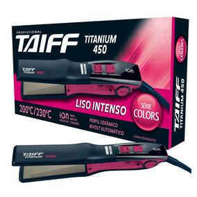 Chapa Taiff Titanium 450 Color Pink - 58w Bivolt + Brinde