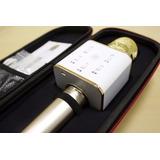 Microfono Sicronizado Con Bluetooth Para Karaoke Con Celular