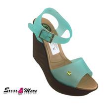 Sandalia Para Dama Kiwi 001 Celeste