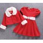 Conjunto Infantil Menina Festa Importado ( Vestido + Bolero)