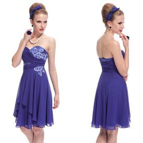 Vestido Importadofesta Noiva 15 Anos Renda Bordado Azul