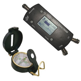 Satelite Finder Digital Com Bussola Apontamento Antena
