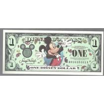 Billete De Disney 1 Dolar Series 2000