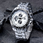 Relógio Curren M:8083 Branco Luxo Militar : Frete Gratis
