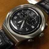 Relógio Swatch Irony The Chrono Trapped Yos428 Aceito Troca