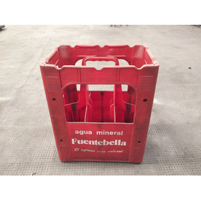 Cajón Plástico Para Botellas Gaseosa Agua Mineral Cerveza