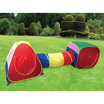 Cubby-tube-tipi 3pc Pop-up Jugar Carpa Infantil Túnel Estaci