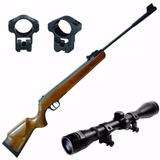 Rifle Aire Comprimido Nitro Piston 1050fp +mira+envio Gratis