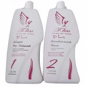 Kit Progressiva Shampoo E Recondicionamento -2x1,5ml- T.liss