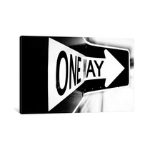Pintura Arte Which Way (one Way) By Bob Larson, 40x26x0.75
