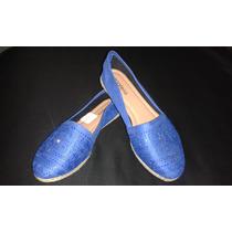 Zapatos Dama Tipo Alpargata-babucha, Marca Azaleia Talla 38
