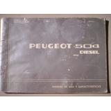 Peugeot 504 Diesel Manual De Uso Y Caracteristicas Complem