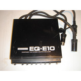 Equalizador Component Pioneer Eq-e10 Made In Japan Hi-fi