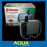 Bomba De Agua Atman At 106 2600 L/h Eleva 3m Fuentes Cascada
