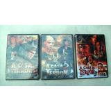 Dvds: Coleção A Casa Do Terror - Hammer -3 Volumes -lacrados