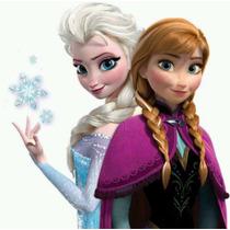 Promo Muñecas Frozen Elsa + Anna Grande Música Original Caja